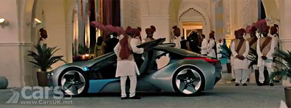 Bmw I8 Mission Impossible