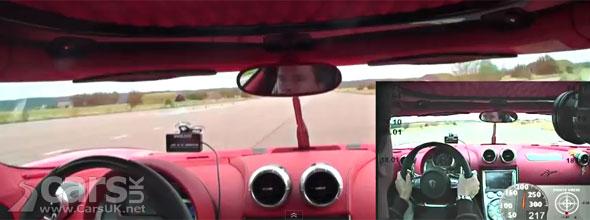 Koenigsegg Agera R World Speed Record Video