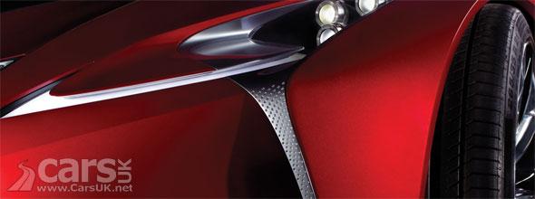 Lexus Concept Tease Detroit 2012