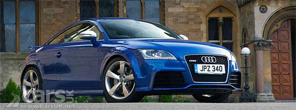 Blue 2012 Audi TT RS