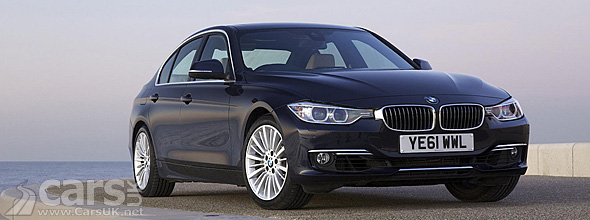Blue 2012 BMW 3 Series UK