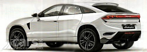 Lamborghini SUV - the MLC