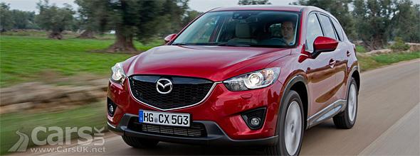 Red 2012 Mazda CX-5