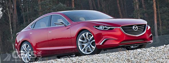 Red Mazda Takeri Concept