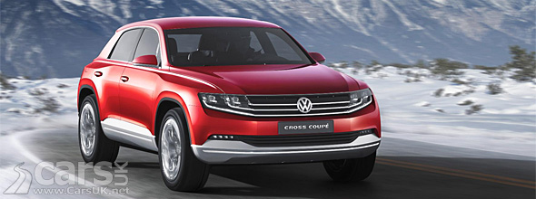 Red VW Cross Coupe Concept Diesel