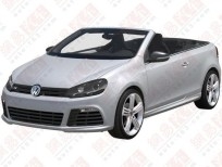 VW Golf R Cabrio Patent Office Image