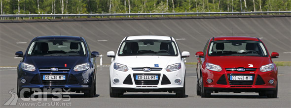 Ford Focus 1.0-litre EcoBoost World Record