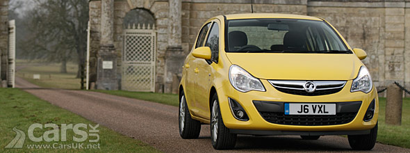 New car sales 2012 - Vauxhall Corsa