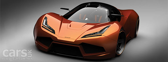 New McLaren F1 to get 1000 bhp - private reveal at Pebble Beach ...
