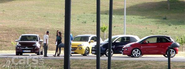 Vauxhall / Opel Adam spied