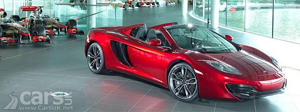 Photo of Red McLaren 12C Spyder Neiman Marcus Edition