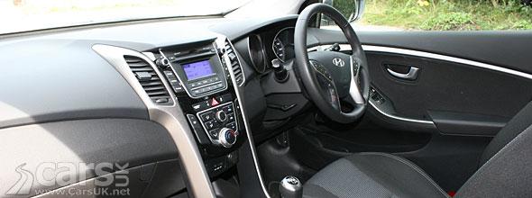 Interior photo of Hyundai i30 2012