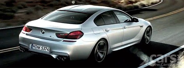 Photo from video of BMW M6 Gran Coupe