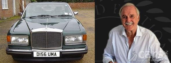 Photo of John Cleese & his Bentley Eight