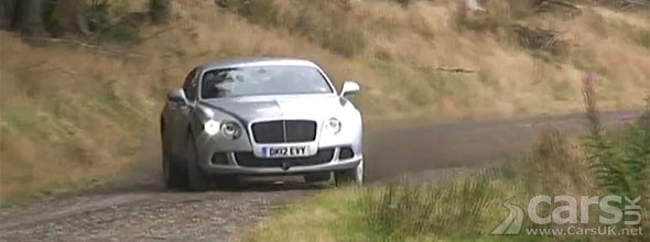 Photo of Bentley Continental Rallying Top Gear