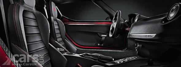 Alfa Romeo 4C Interior picture