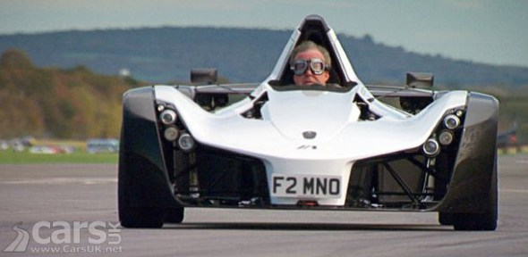Jeremy Clarkson in BAC Mono Series 20 Photo