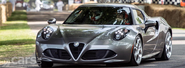 Photo Alfa 4C at Goodwood Festival of Speed