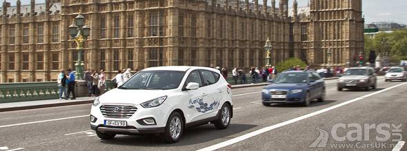 Photo Hyundai ix35 FCEV London