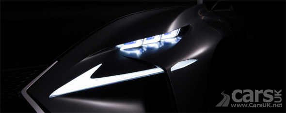 New Lexus Concept teased for Frankfurt