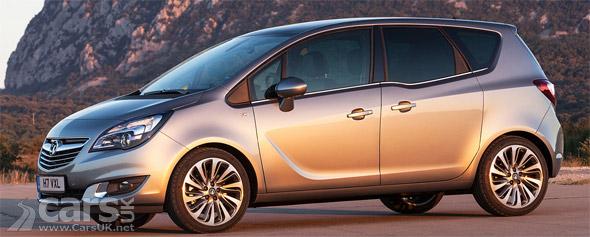 2014 Vauxhall Meriva Facelift Gets New Diesel Engine Cars Uk