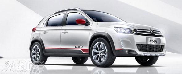Citroen C-XR concept looks like Citroen\'s take on the Peugeot 2008 ...