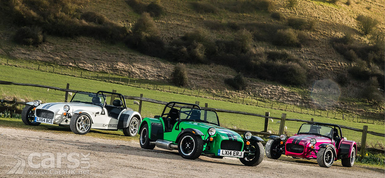 2015 Caterham 270 360 And 420 Revealed