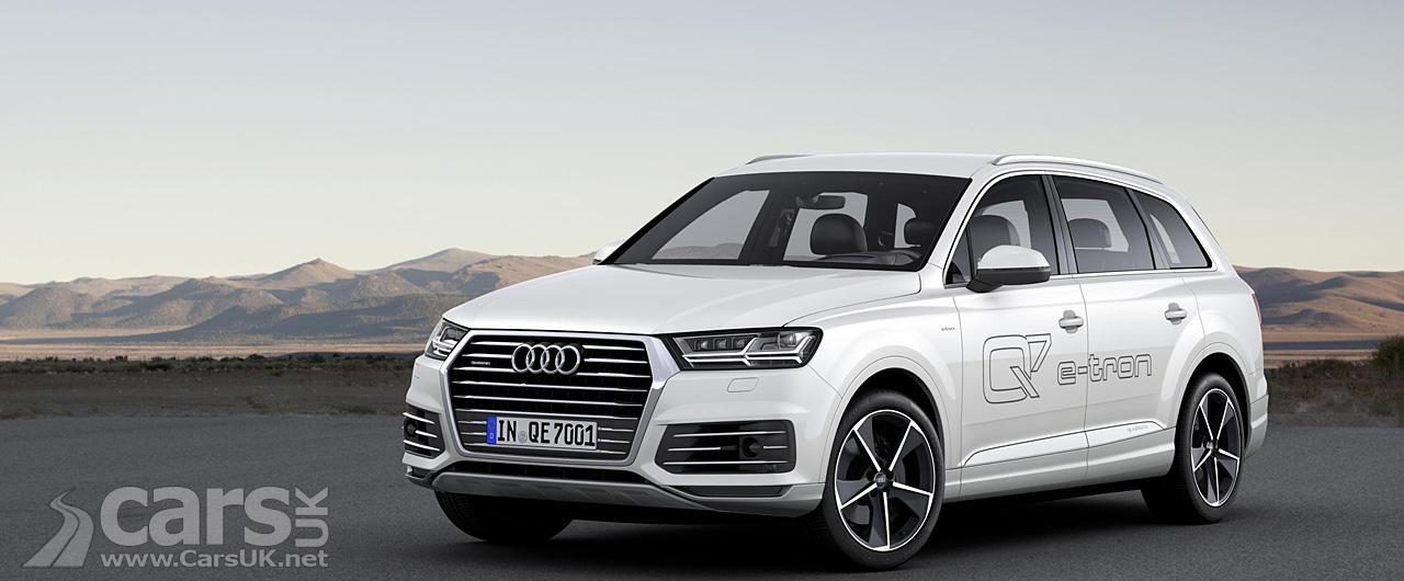 Photo Audi Q7 E Tron