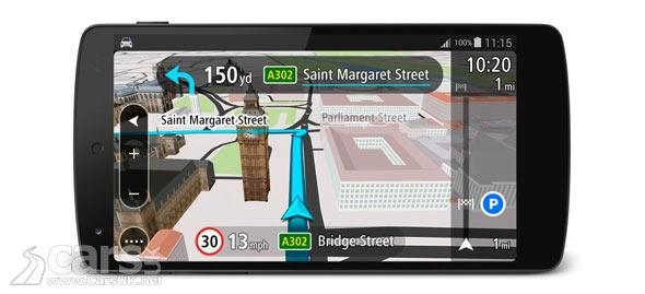 new tomtom go mobile sat nav app from free on android cars uk. Black Bedroom Furniture Sets. Home Design Ideas