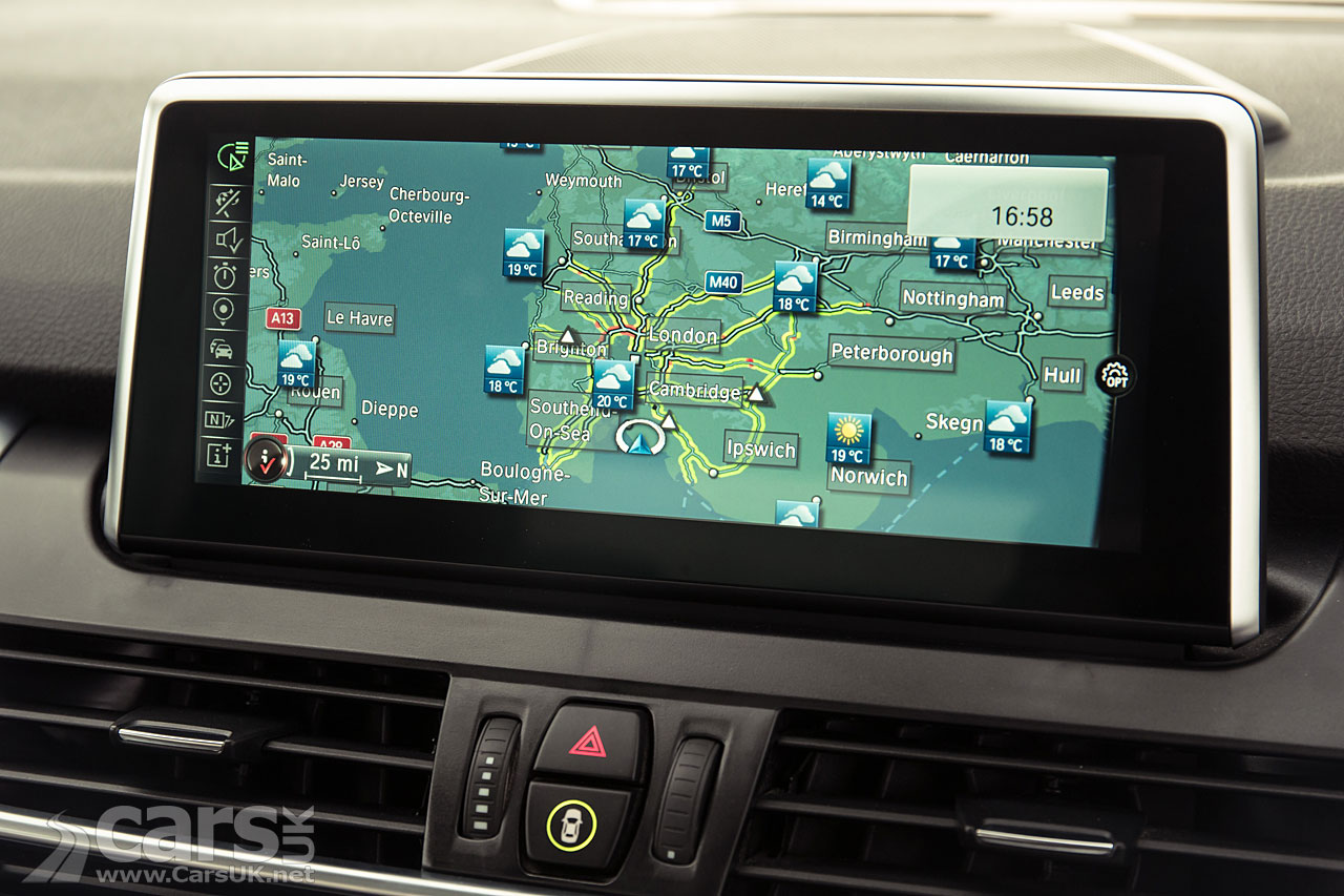 sat nav on every new bmw from september 2015. Black Bedroom Furniture Sets. Home Design Ideas