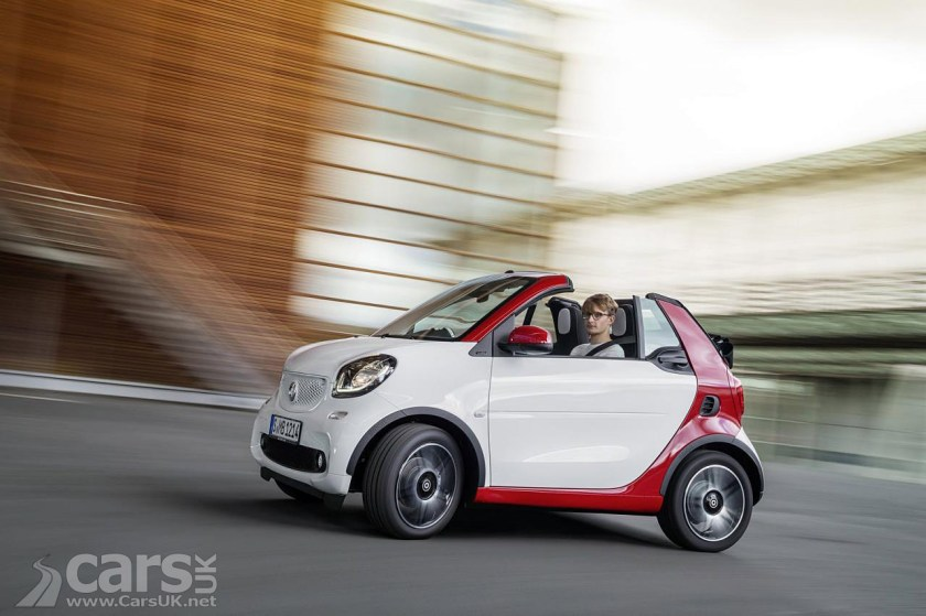 2016 smart fortwo cabrio uk price specs costs from. Black Bedroom Furniture Sets. Home Design Ideas