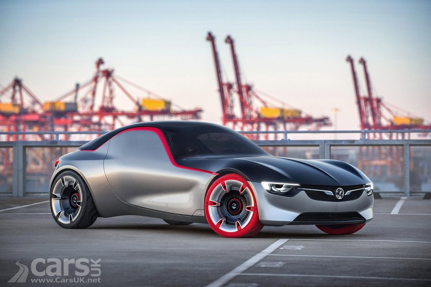 Vauxhall GT Concept Revealed VauxhallOpel Dream Of Little Sports - Little sports cars