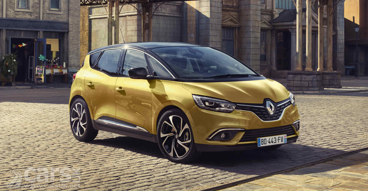 2016 Renault Scenic debut: Fourth-generation vehicle breaks new ...