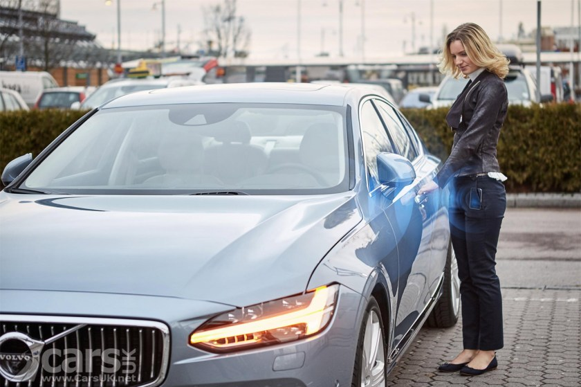 Photo Volvo no car key