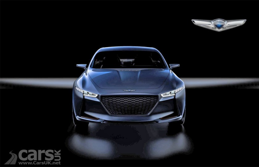 Hyundais Genesis New York Concept Previews Bmw 3 Series Rivalling