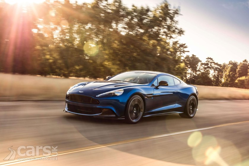 Aston Martin Vanquish S Replaces The Vanquish A Last Hurrah For - Old aston martin vanquish