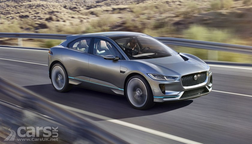 Photo Jaguar i-PACE electric Crossover Concept