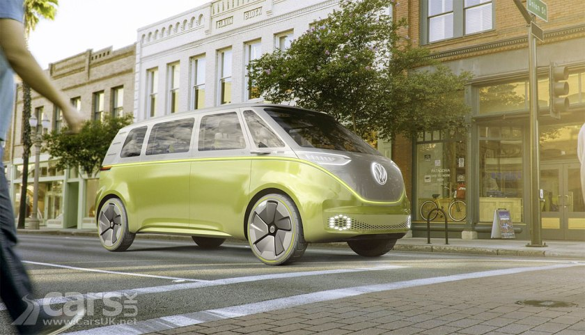 Volkswagen I.D. Buzz Electric Microbus Concept