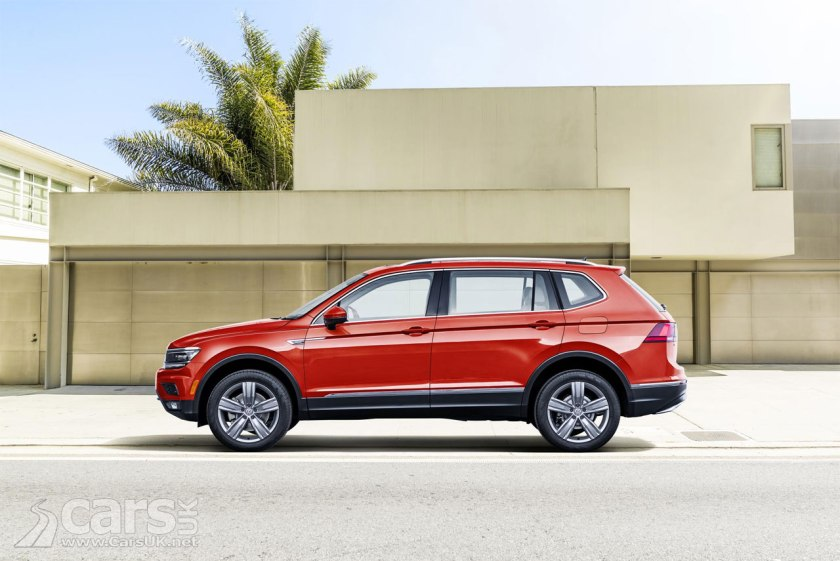 volkswagen tiguan allspace revealed but it 39 s just a tiguan in the usa cars uk. Black Bedroom Furniture Sets. Home Design Ideas