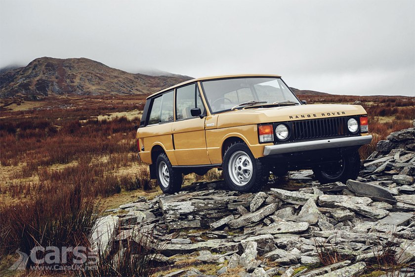 Photo Range Rover Reborn by Land Rover Classics