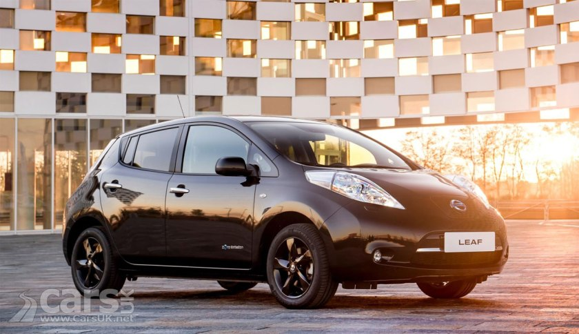 2017 Nissan LEAF Black Edition goes on sale in the UK priced from ...