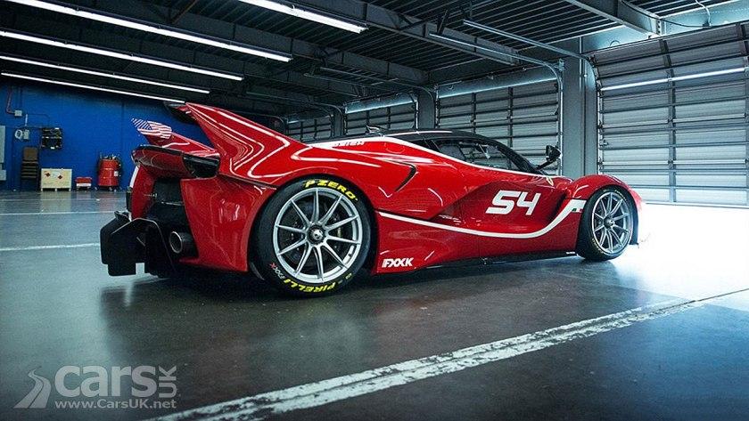 Top Gear Tonight: Matt LeBlanc in charge - Ferrari FXX K ...