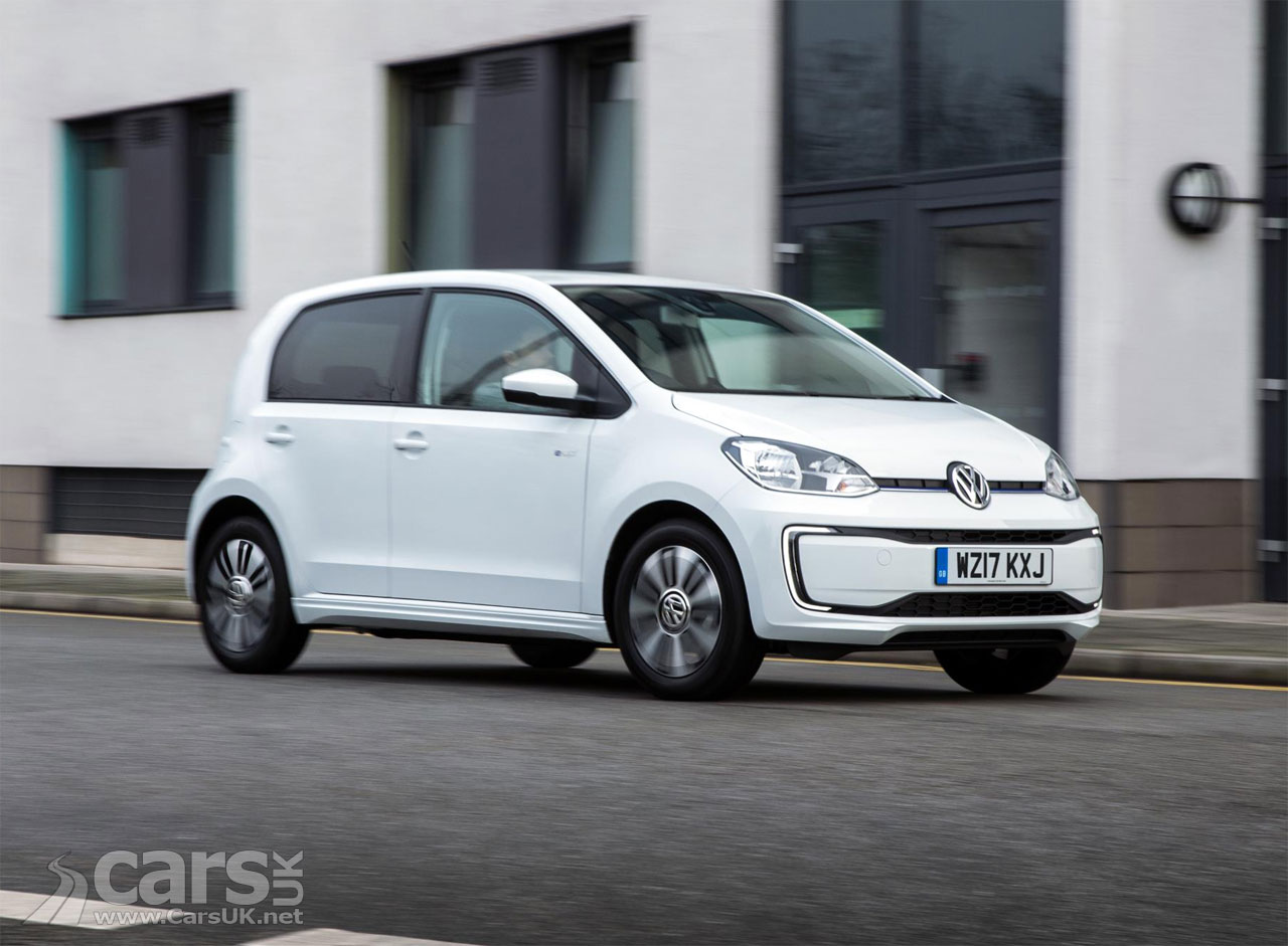 first new electric volkswagen e up delivered in the uk boasts vw but why cars uk. Black Bedroom Furniture Sets. Home Design Ideas
