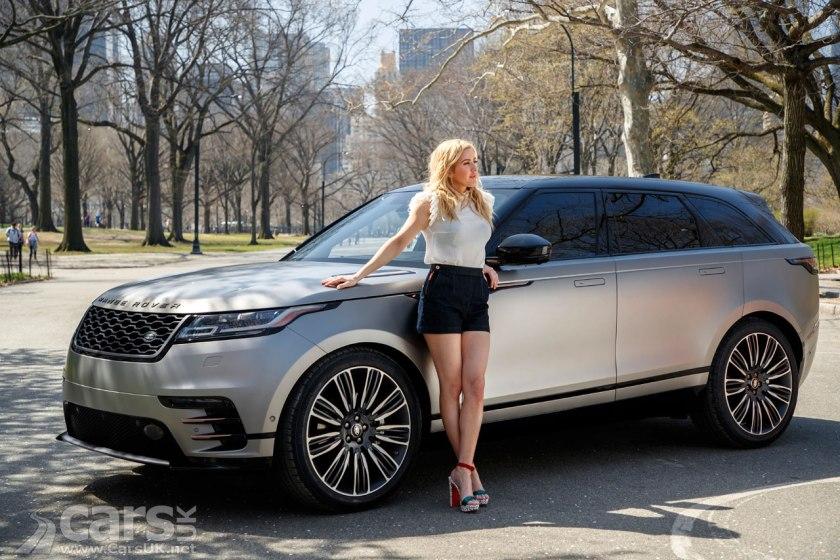 Photo Range Rover Velar Ellie Goulding