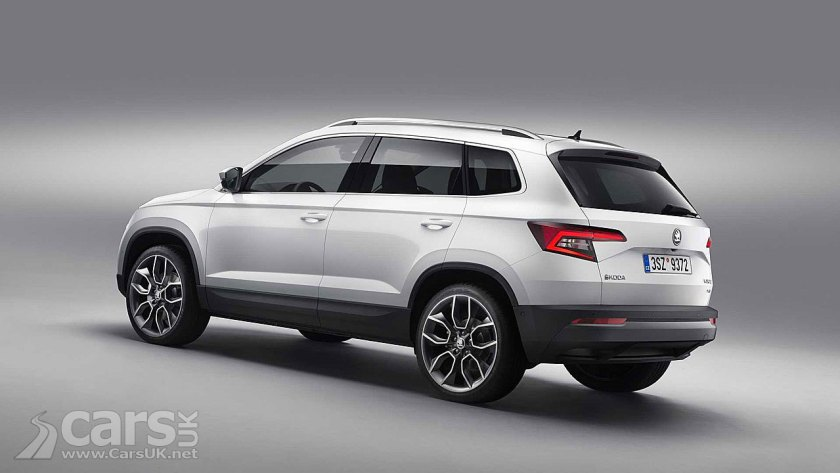 Photo Skoda Karoq SUV Rear View