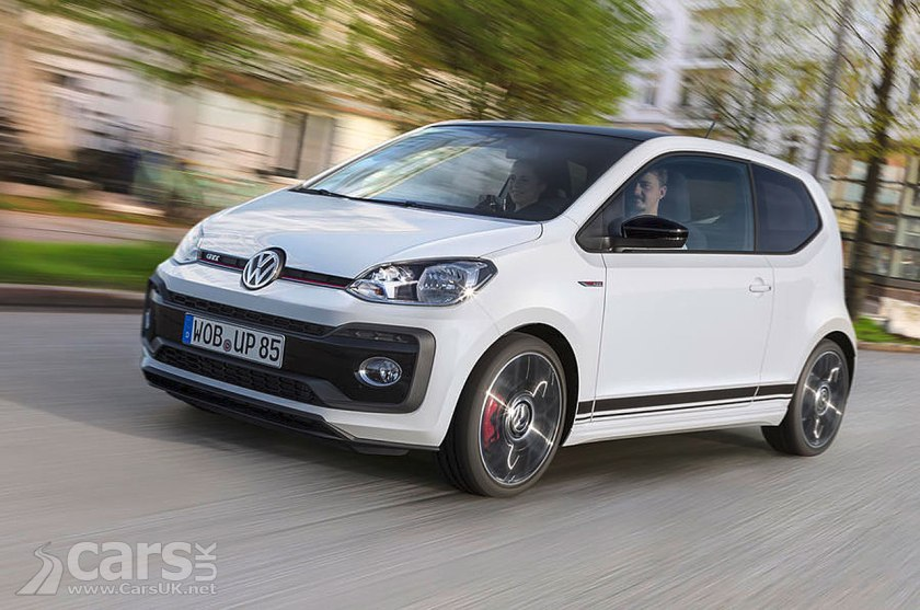 Photo Volkswagen Up! GTi arrives