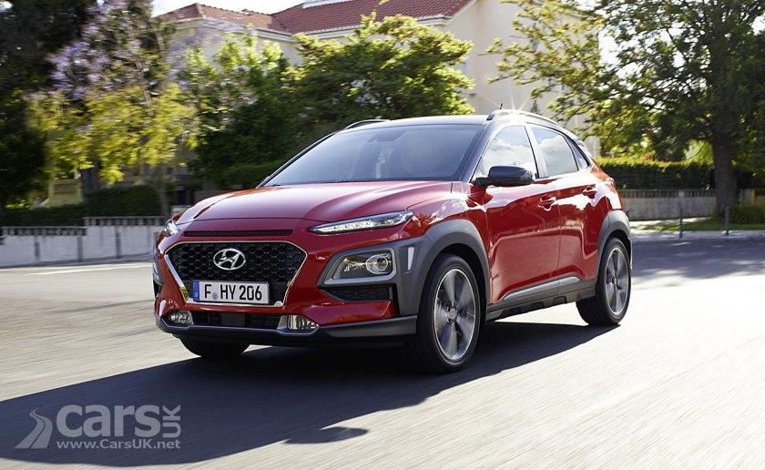 Photo New Hyundai Kona SUV OFFICIALLY revealed