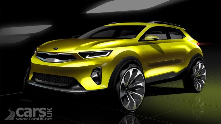 Photo Kia Stonic SUV Design Sketch