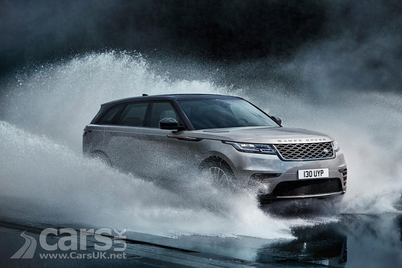 Photo Range Rover Velar Water Splash
