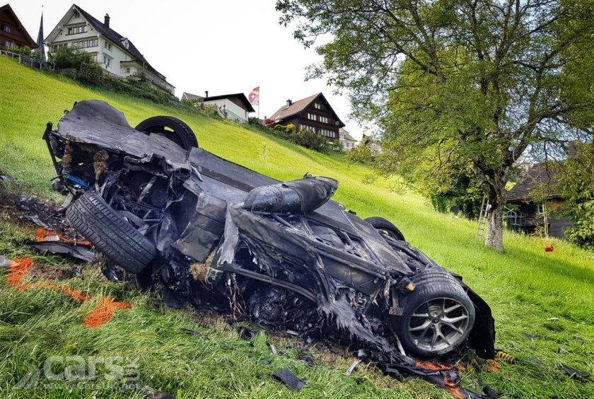 Photo Richard Hammond has MASSIVE crash driving Rimac Electric Supercar